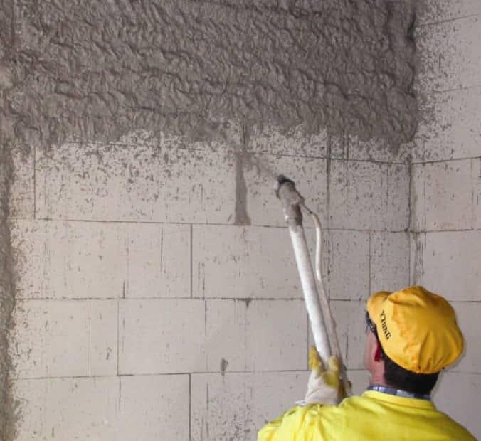 Из чего состоит цементный штукатурный раствор бетон b30 rb