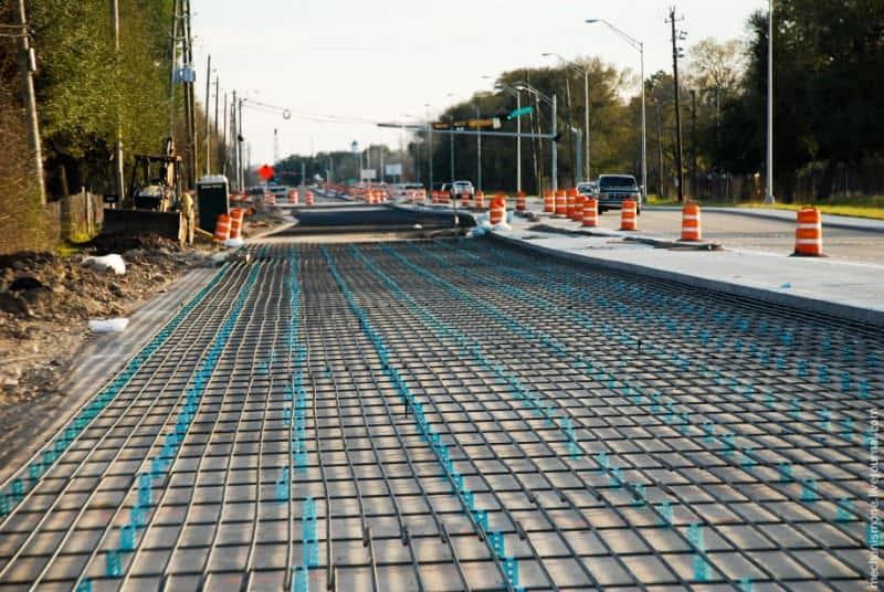 бетонная дорожная смесь