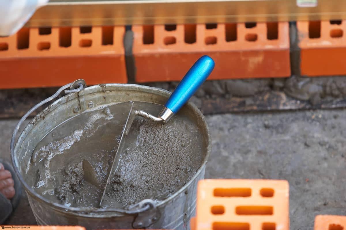 Раствор строительный кладочный м100 керамзитобетон или газоблок для бани