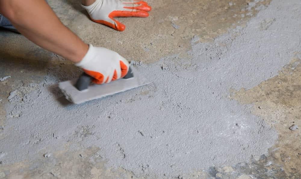 Бороздки на бетоне фора бетон