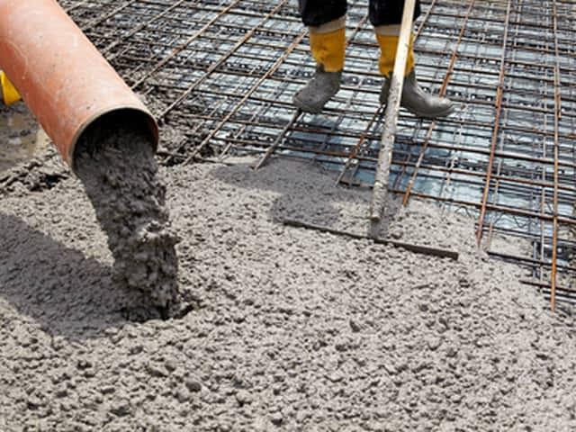 Цементные бетоны и строительные растворы тех схема производства бетонных смесей