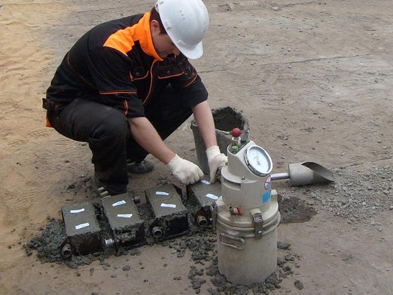 Что такое проба бетонной смеси пропорции цементного раствора для заливки фундамента